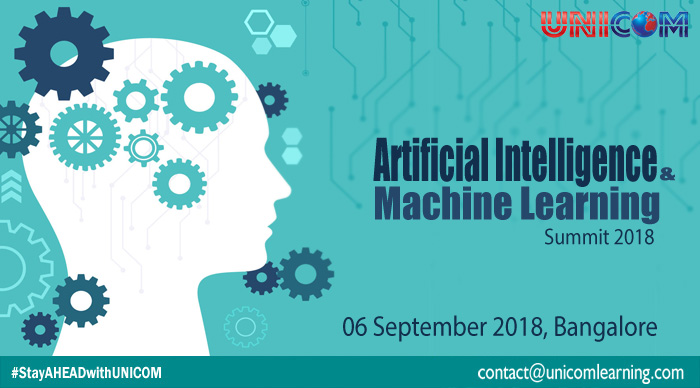 Artificial intelligence and machine learning Summit 2018